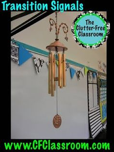 Clutter-Free Classroom: Transition Signals: Classroom Management Series