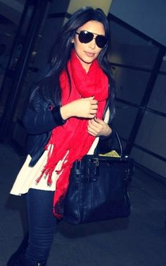 Kim Kardashian is a winter personality. She looks great almost always because she wears  her complimenting colours.