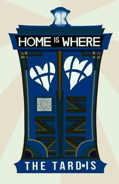 Home is where the TARDIS is