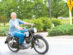 1956 NSU Supermax - Classic German Motorcycles - Motorcycle Classics