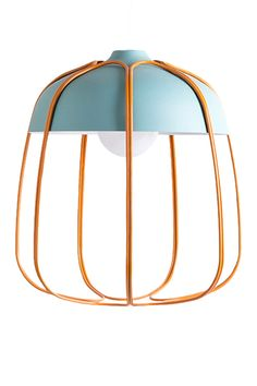 This light fixture straddles the line between youthful and elevated-modern brilliantly.