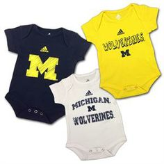 University of Michigan Baby Clothes on Pinterest
