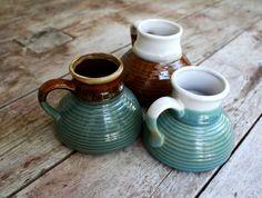big belly earthtone coffee mugs