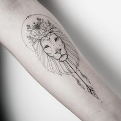 Do you have an animal tattoo? Trendy Tattoos, Love Tattoos, Beautiful Tattoos, New Tattoos, Body Art Tattoos, Tattoos For Women, Girl Tattoos, Beautiful Lion, Tattoo Girls