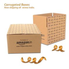 Shop Quality Amazon Branded Corrugated Box at Best Price. Multiple Sizes Available. Free Shipping on Qualified Order. Packing Supplies, Corrugated Box, Brand Packaging, Boxes, Delivery, Place Card Holders, India, Free Shipping, Amazon