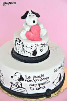 http://www.lemienozze.it/gallerie/torte-nuziali-foto/img32723.html Torta nuziale con dedica personalizzata
