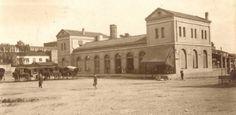 L'estació dels FGC a Terrassa els anys 20 Foto: Fons Ragón-Amat