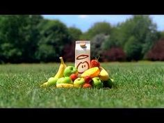 First ever innocent telly ad dating back to In a nutshell.Carton in the park surrounded by lots of fruit (filmed in Gunnersbury Park in west London). Innocent Drinks, Brand Archetypes, Tv Ads, Tv Commercials, Fashion Branding, Smoothies, Healthy Snacks, West London, Chicken