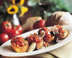 Maggiano's Bruschetta recipe- yummy!!