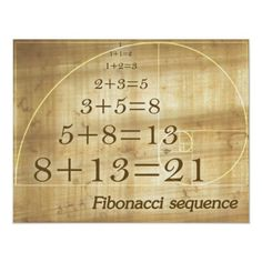 Forex Fibonacci…By definition, the first two numbers in the Fibonacci sequence are 0 and and each subsequent number is the sum of the previous two. Fibonacci Golden Ratio, Divine Proportion, E Mc2, Arabesque, Custom Posters, Knowledge, Science, Education, Serie Fibonacci