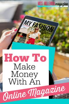 "There is one question I often get, way more than the other questions combined. ""How do you make money with an online magazine?"" Earn More Money, Way To Make Money, Make Money Online, How To Make, Work From Home Tips, Money From Home, Quitting Your Job, Best Blogs, Extra Money"