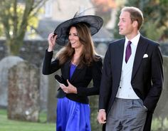 Kate Middleton Photo - Prince William and Kate Middleton at a Friend's Wedding
