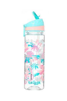 Smiggle Explore Kids Water Drink Bottle for Girls Boys with Flip Top Spout Capacity Cute Water Bottles, Drink Bottles, 1million Dance Studio, Dinner Wear, School Accessories, Fitness Accessories, Baby Doll Nursery, Drinking Water, School Supplies