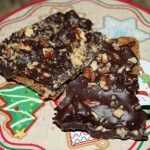 Graham Cracker Candy...This is my Husbands Favorite candy