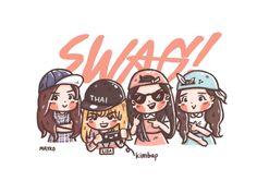 [FA] New Single Kimbap Swag!!! Yo!! #Rose #Jennie #Lisa #Jisoo #BLACKPINK #blackpinkfanart #Fanart #mayko #procreate #ipadpro Yg Entertainment, Korean Picture, Kpop Girl Bands, Lisa Blackpink Wallpaper, Black Pink Kpop, Kpop Drawings, Art Folder, Blackpink And Bts, Blackpink Jisoo