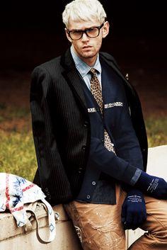 #Tie #Print #Leopard #Uniform
