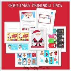 Kids love hands-on activities and games and learn so many important skills through playing them. The pack includes a fun printable game, colouring in sheets, tactile activities & Christmas themed printables that will entertain children at Christmas time. Just print and laminate these templates for a re-usable resource children can learn and play with. Page 2 -Free Printable Santa Advent Calendar. Page 3 -Free Printable Gift tags. Page 4 -Free Printable Letter to Santa. Page 5 -Free Printa...
