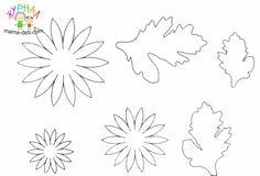 Хризантема из фоамирана (фома) мастер класс