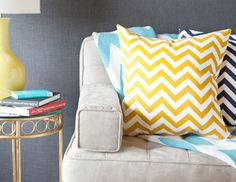 I pinned this from the Chevron - Chic Furniture, Pillows, Accents & More event at Joss and Main!