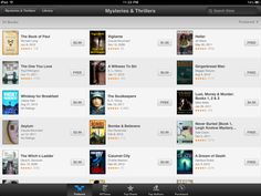 Not a bad way to end the day dept.: The Book of Paul is featured in Breakout Books for Mysteries and Thrillers on iTunes!