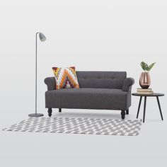 Victoria 2 Seater Fabric Sofa – Next Day Delivery Victoria 2 Seater Fabric Sofa from WorldStores: Everything For The Home