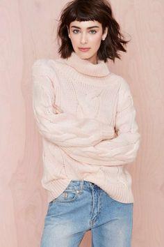 Three of Something Coastal Sweater | Shop Play, Girl at Nasty Gal