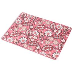 Vera Bradley Micro-Quilt Placemat in Blush Pink ($14) ❤ liked on Polyvore featuring blush pink