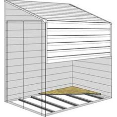 storage shed for side yard
