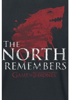 The North Remembers - T-shirt van Game Of Thrones