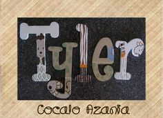 Cocalo Azania Crib Bedding/ jungle nursery letters/ wall art for kids/ wall name/ wooden name/ wooden letters/ painted letters www.funkyletterboutique.com
