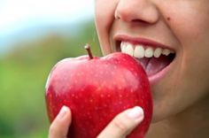 Add these ten foods to your regular diet to boost dental health. Many foods you already love can help clean and protect your pearly white smile, while providing your body with essential nutrients! Teeth Health, Healthy Teeth, Dental Health, Healthy Eating, Dental Care, Oral Health, Healthy Foods, Dental Hygiene, Healthy Habits