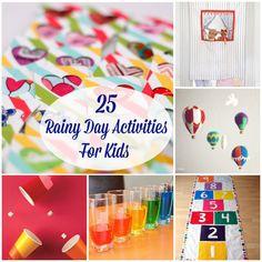 25 Rainy Day Activities for Kids