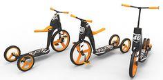 Scooter Plus Bike Equals Scoobi! | Yanko Design
