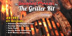 Every Dad likes to grill, so, get him our griller kit this Father's Day.