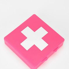 Pink first aid kit!