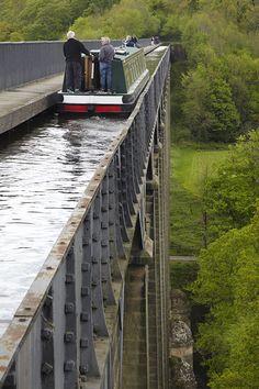 Llangollen Canal, Wales GPS: 52.972419, -3.171684 - https://en.wikipedia.org/wiki/Llangollen_Canal