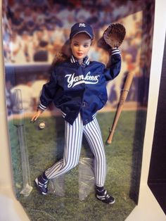 New! New York Yankees Barbie Doll Collectors Edition! Certified! #Barbie #DollswithClothingAccessories