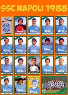 SSC NAPOLI 1987-88 https://www.facebook.com/Napoli1926AmoreInfinito/