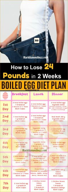 Boiled Egg Diet Plan Recipes for Weight Loss Lose 24 Pounds in 14 Days.Try t