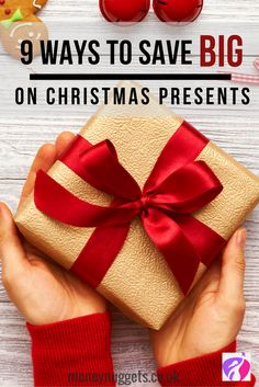 Are you looking to save money on Christmas gifts this Christmas? Here are 9 smart ways you can save money on Christmas presents on a budget.