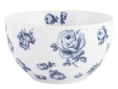 Inspired by the heritage art of Amsterdam, this Floral Bowl from the Vintage Indigo collection is a pretty piece from British designer Katie Alice. Capturing the elegance of delftware with a modern twist, stunning dark blue roses contrast against super white porcelain in this piece, with a sweet interior floral detail. Inspired by the delft tiles of Rembrandt's house, Vintage Indigo takes the Katie Alice brand in a fresh new direction, while keeping its signature charm. Breathing new life…