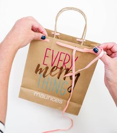 Gift wrapping ideas to fa la la love maurices maurices blog gift wrapping ideas to fa la la love maurices sciox Images