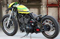 Tribute Custom Motorcycle To Formula 1 Legend Ayrton Senna