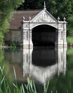 """daughterofchaos: """"Boathouse at Burghley House in Stamford, Lincolnshire, England Photo by Steve Williams on Flickr """""""