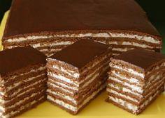 Csokoládés szelet dióval és mézzel, tökéletes választás különleges alkalmakra! Mentsd el ezt a receptet!