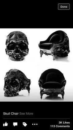 In love with skulls