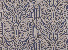 Varanasi Wallcovering Eclipse - Xanthina Wallcoverings : Designer Fabrics & Wallcoverings, Upholstery Fabrics