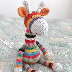 Stripy Giraffe amigurumi pattern