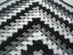 black grey and whitecrocheted blankets - Bing Images