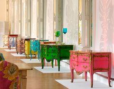© Desde 1885, Moissonnier da cuenta de innovadoras colecciones de muebles que siguen una línea más bien clásica y barroca.